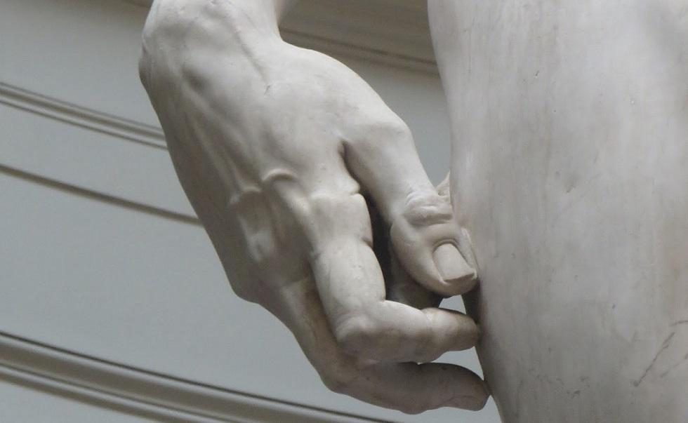 Michelangelo Dávid-szobra közelről még lenyűgözőbb