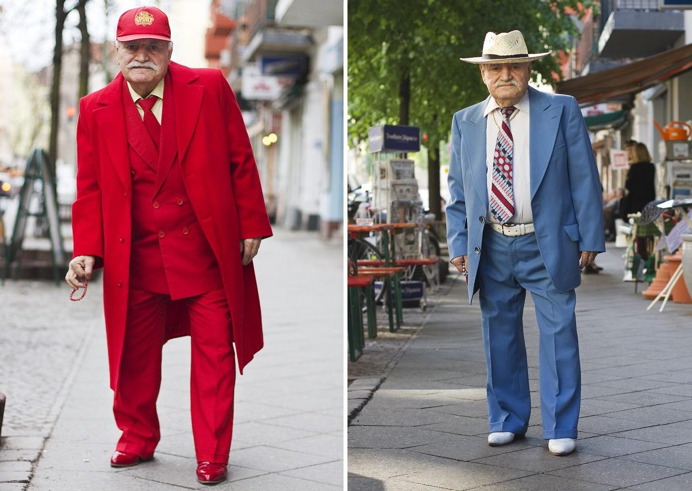Igazi divatdiktátor ez a 86 éves szabó, aki minden nap más öltönyben jár