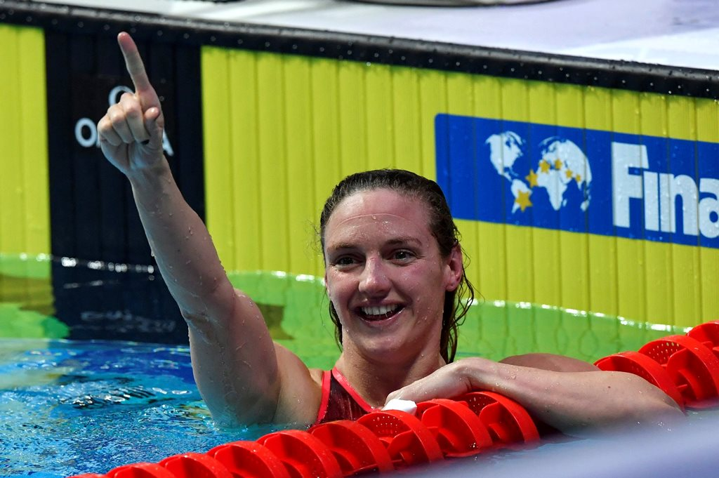 Hosszú Katinka ( MTI Fotó: Illyés Tibor)