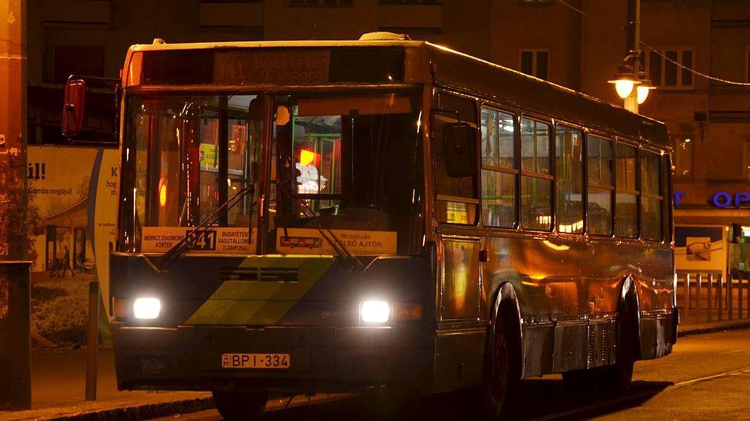 A 941-es busz (fotó: Wikipedia.org)