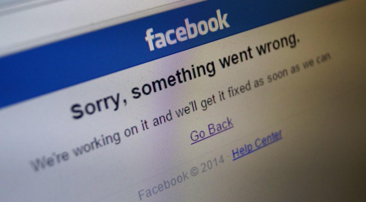 Óriási gondok vannak most a Facebookkal