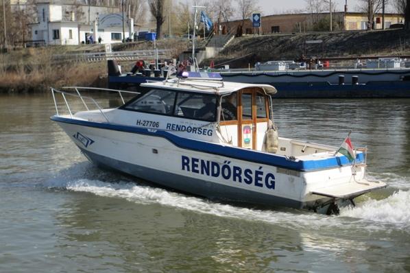 Dunai vízirendőrök
