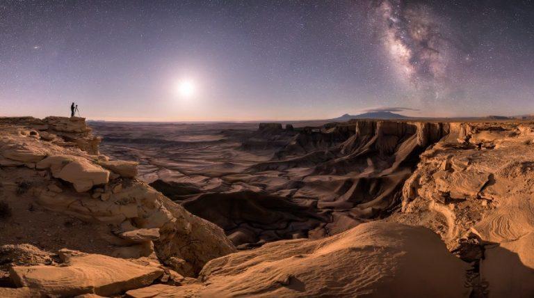 Brad Goldpaint: Lélekemelkedés (fotó: Csillagászat.hu)