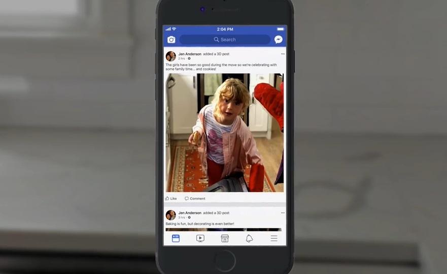 3D-s fotók özönlik el a Facebookot – videó