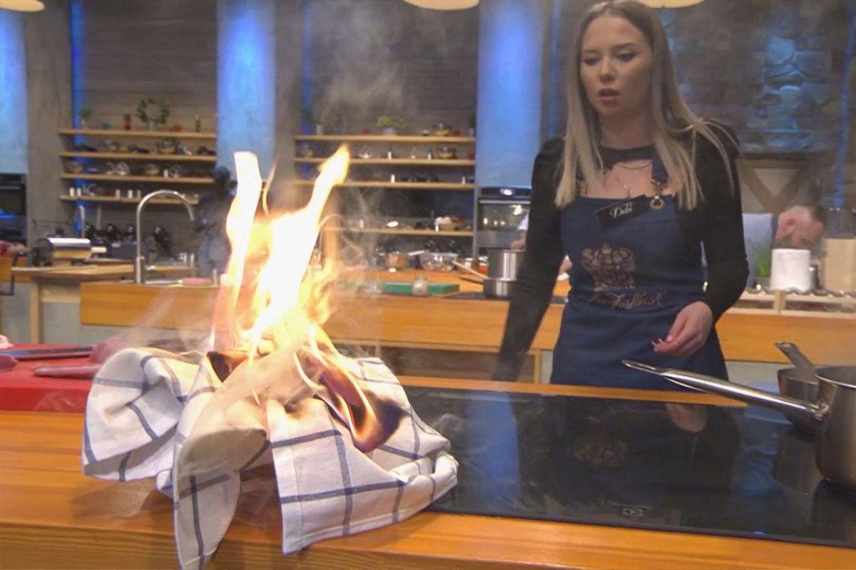 Lángolt a konyha A Konyhafőnök válogató második napján